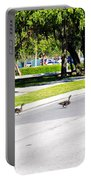 Duck Crossing Portable Battery Charger