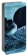 Duck Family Joy In The Lake  Portable Battery Charger by Colette V Hera  Guggenheim