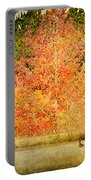 Ducks In An Autumn Pond Portable Battery Charger