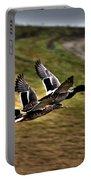 Ducks In Flight V5  Portable Battery Charger