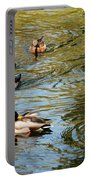 Ducks On The Water Portable Battery Charger