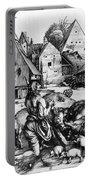 Durer: Prodigal Son, 1496 Portable Battery Charger