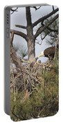 Eagle And Babies Portable Battery Charger