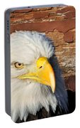 Eagle On Brick Portable Battery Charger