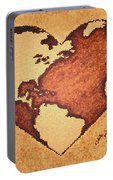 Earth Day Gaia Celebration Digital Art Portable Battery Charger