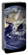 Earth From Space Portable Battery Charger