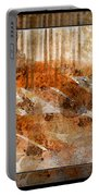 Earthtones Abstract Portable Battery Charger