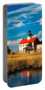 East Point Lighthouse Reflection Portable Battery Charger