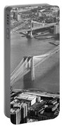 East River Bridges New York Portable Battery Charger