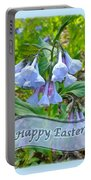 Easter Card - Virginia Bluebells Portable Battery Charger