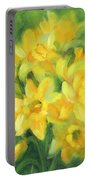 Easter Daffodils Portable Battery Charger