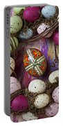 Easter Egg With Wreath Portable Battery Charger