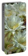 Easter Lily Cactus Bouquet Hdr Portable Battery Charger