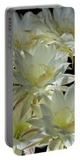 Easter Lily Cactus Bouquet Portable Battery Charger