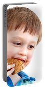 Eating Biscuit Portable Battery Charger