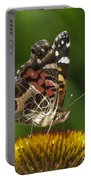 Echinacea Butterfly Meal Portable Battery Charger