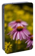 Echinacea Dreamy Portable Battery Charger