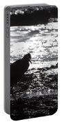 Egret Silhouette  Portable Battery Charger