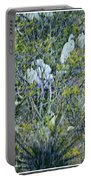 Egrets At Roost Portable Battery Charger
