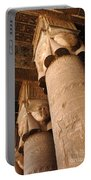 Egypt Temple Of Dendara Portable Battery Charger
