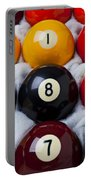 Eight Ball Portable Battery Charger by Garry Gay