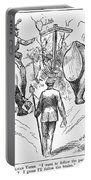 Election Cartoon, 1884 Portable Battery Charger