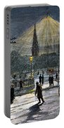Electric Streetlight, 1881 Portable Battery Charger