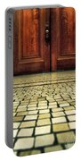 Elegant Door And Mosaic Floor Portable Battery Charger