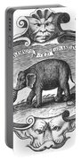 Elephant, 17th Cent Portable Battery Charger