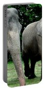 Elephant Meeting Portable Battery Charger