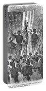 Emancipation, 1863 Portable Battery Charger