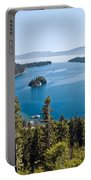 Emerald Bay Morning Portable Battery Charger