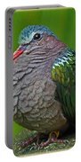 Emerald Ground Dove Portable Battery Charger