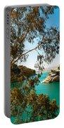 Emerald Lake With Duke House I. El Chorro. Spain Portable Battery Charger