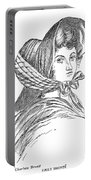 Emily Bront� (1818-1848) Portable Battery Charger