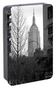 Empire State Building Portable Battery Charger