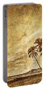 Empty Tropical Beach 3 Portable Battery Charger