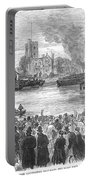 England: Boat Race, 1869 Portable Battery Charger