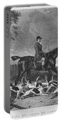 England: Fox Hunt, 1832 Portable Battery Charger