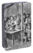 England: Soup Kitchen, 1862 Portable Battery Charger