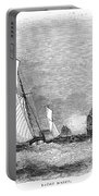 England: Yacht Race, 1843 Portable Battery Charger