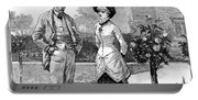English Couple, 1883 Portable Battery Charger