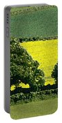English Field Of Yellow 2 Portable Battery Charger
