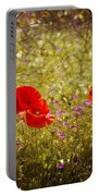 English Summer Meadow. Portable Battery Charger