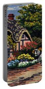English Tapestry Portable Battery Charger