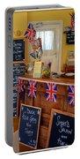 English Tearoom Portable Battery Charger