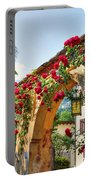 Entrance Arch With Flowers Portable Battery Charger