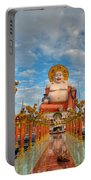 Entrance To Buddha Portable Battery Charger by Adrian Evans