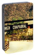 Entrance To The High Chaparral Ranch Portable Battery Charger
