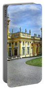 Entrance To Wilanow Palace - Warsaw Portable Battery Charger